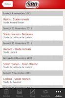 Screenshot of Stade Rennais Online