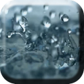 Rain on the glass icon