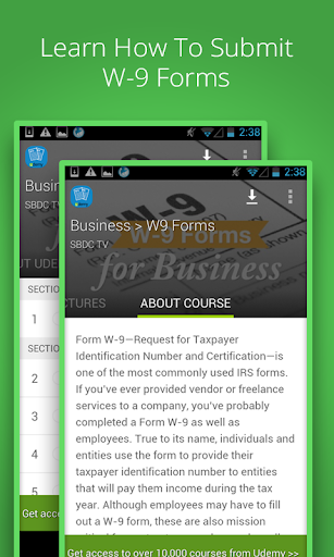 W-9 Forms For Business