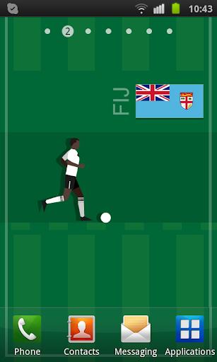 Fiji Soccer LWP