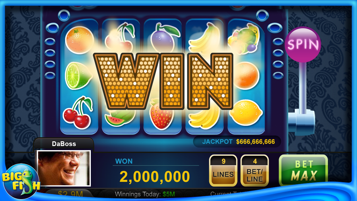 Big fish casino screenshot for Big fish games android