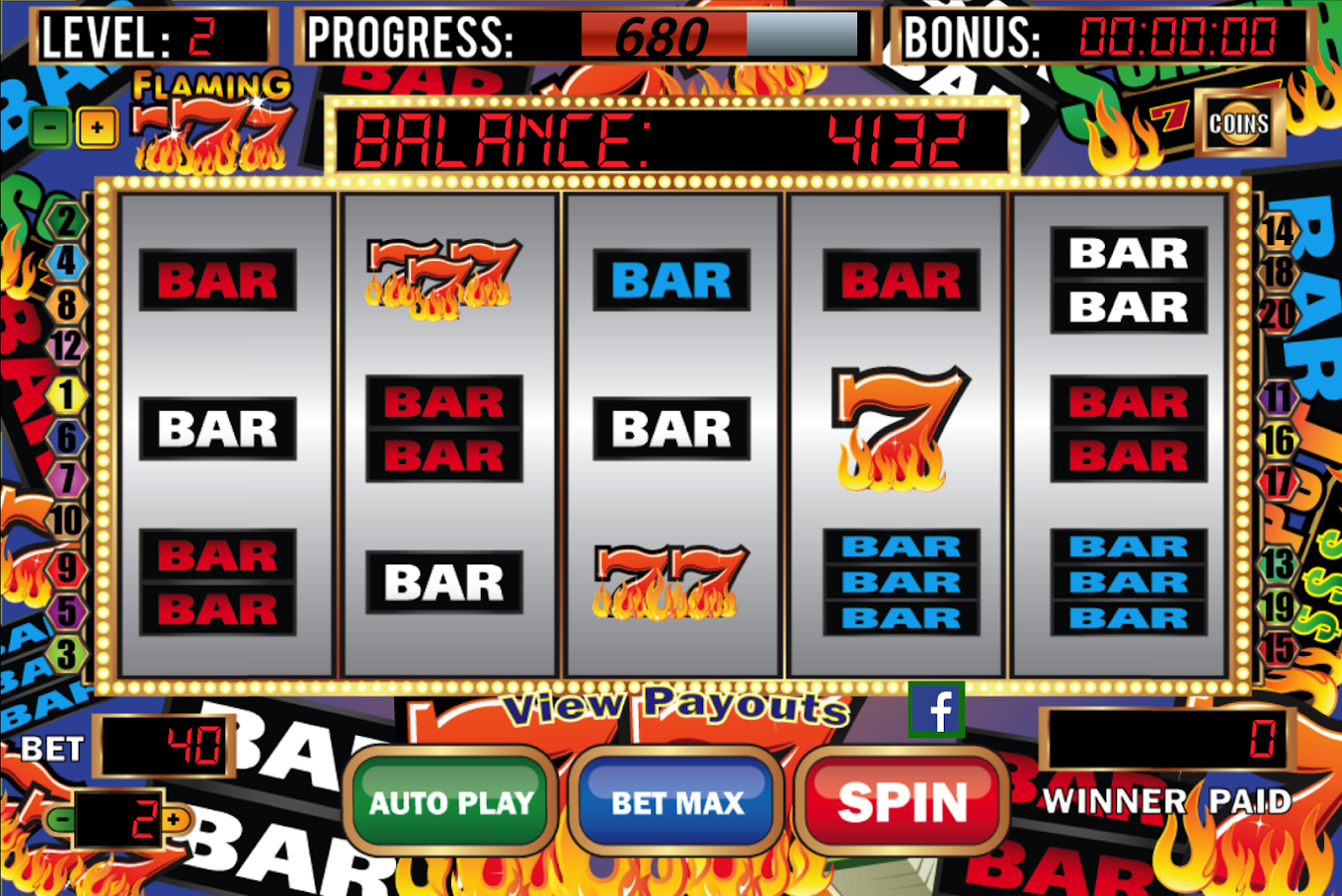 Hot Seven - 5 Reels - Play legal online slot games! OnlineCasino Deutschland
