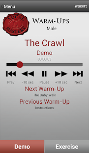 Vocal Mastery Warm-Ups- screenshot thumbnail