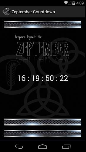 Zeptember Countdown