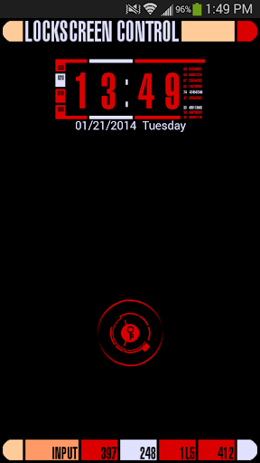 LCARS Red Go Locker