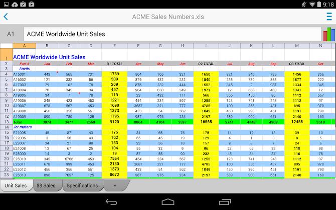 Docs To Go™ Premium Key Android 17