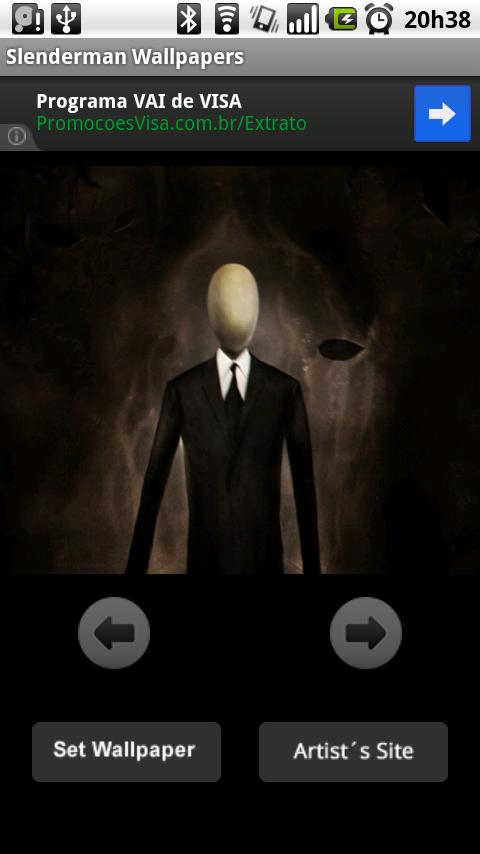 Slenderman Wallpapers - screenshot