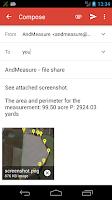 Screenshot of AndMeasure (Area & Distance)