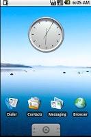 Screenshot of Analogic Clock Widget Pack 2x2