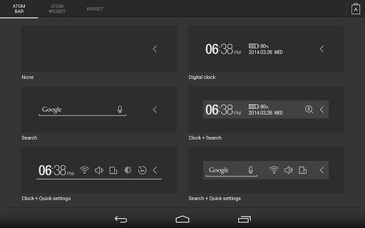 【免費個人化App】Atom All in One Widgets-APP點子