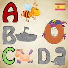 Spanish Alphabet Puzzles Kids! icon