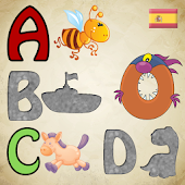 Spanish Alphabet Puzzles Kids!