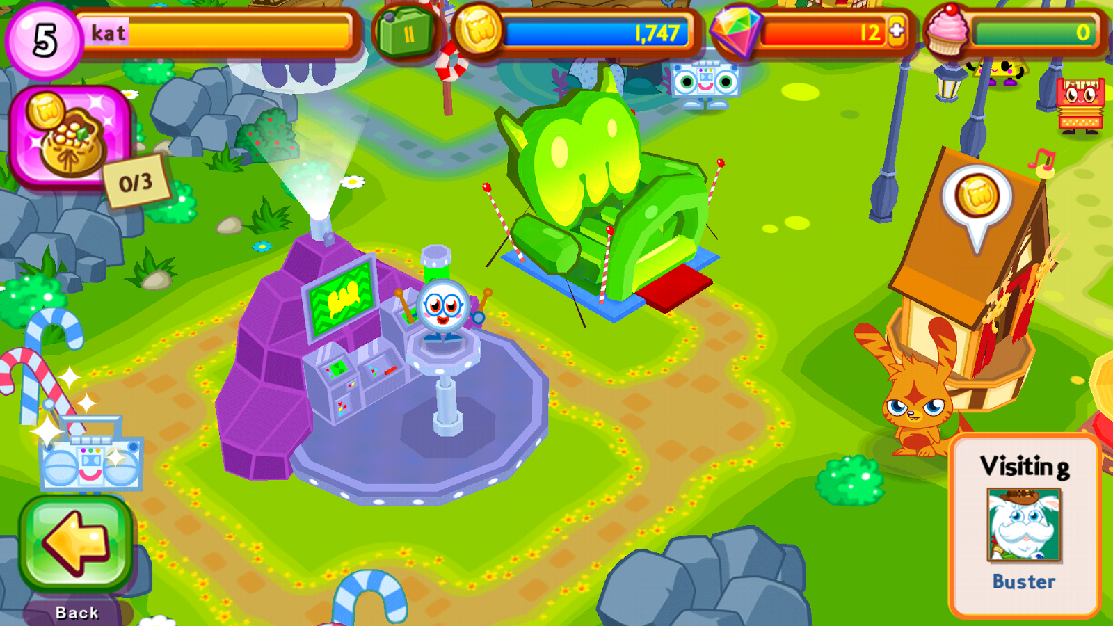 Screenshots of Moshi Monsters Village for iPhone