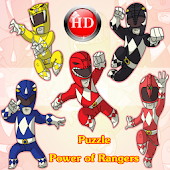 Puzzle Power of Rangers