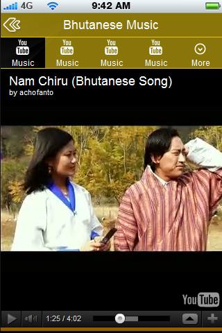 Bhutanese Music Videos - screenshot