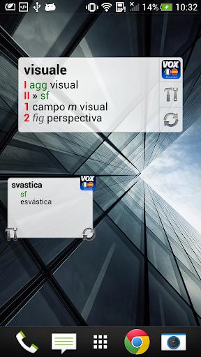 VOX Italian-Spanish dictionary