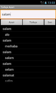 Azerbaijani Turkish Dictionary screenshot 8