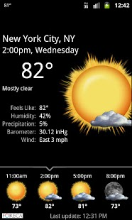 Palmary Weather - screenshot thumbnail