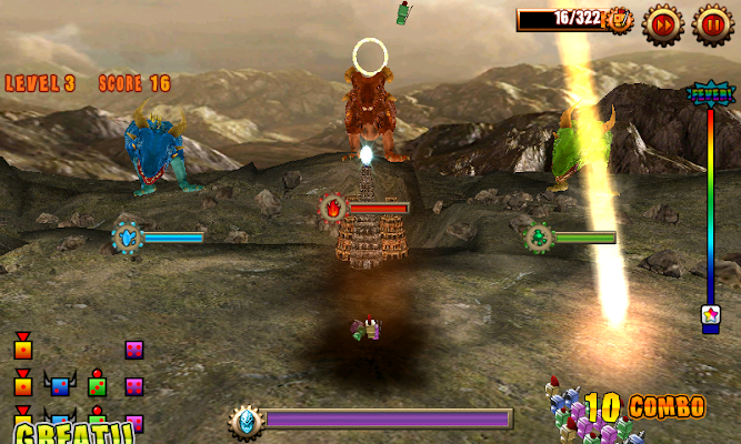 DiceSoldier vs Dragon - screenshot