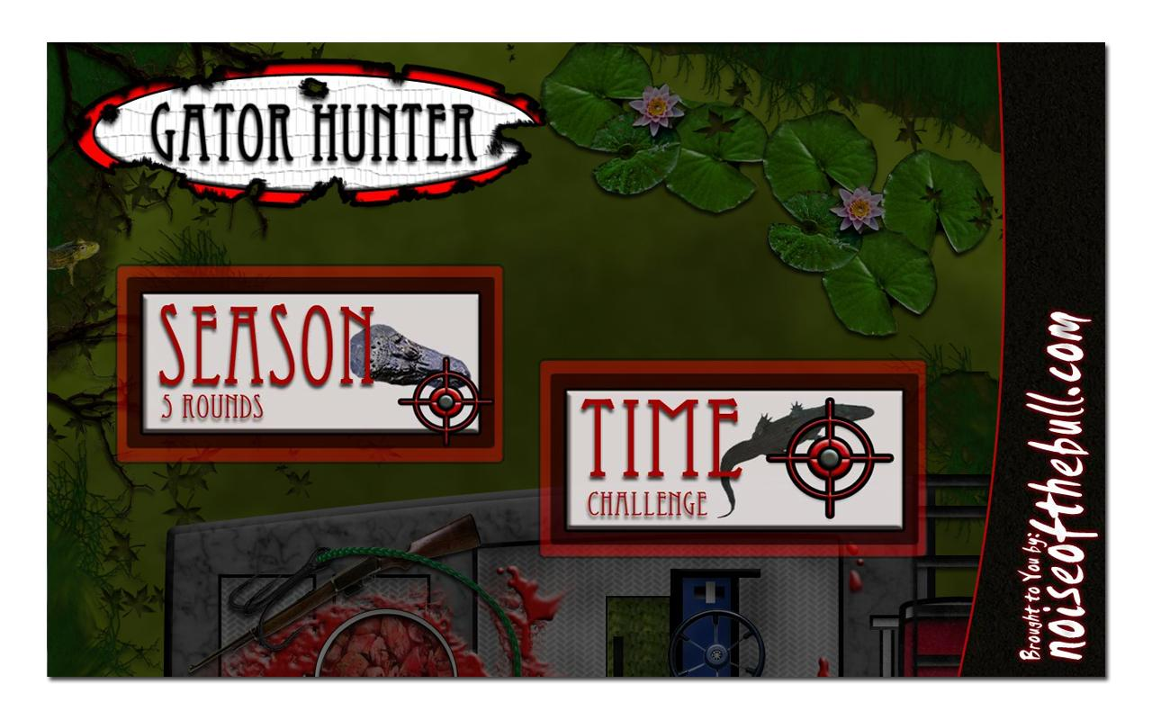 Gator Hunter- screenshot