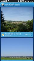 Screenshot of Meteoradar In-počasí