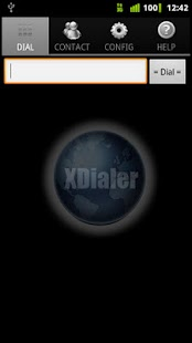 XDialer - screenshot thumbnail