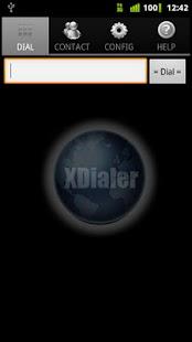 XDialer - screenshot thumbnail