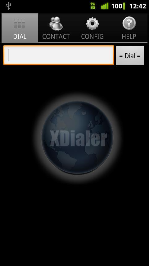 XDialer- screenshot