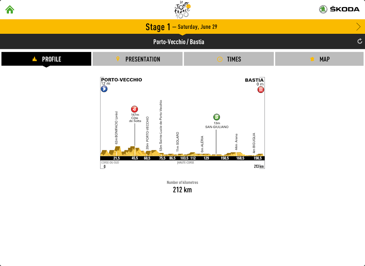 TOUR DE FRANCE 2013 by ŠKODA - screenshot