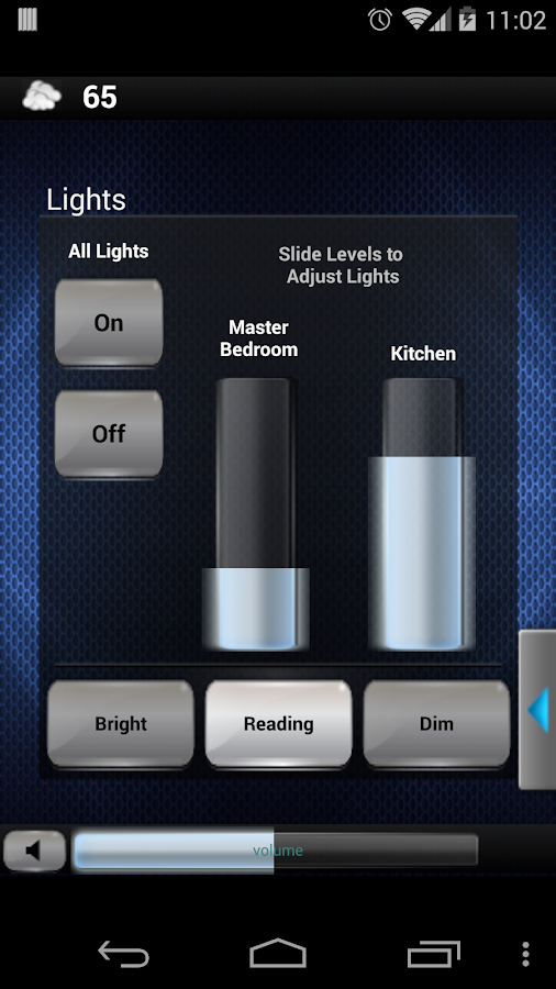 Crestron Mobile- screenshot
