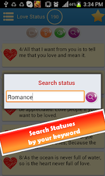 Status Message (+Love Status)
