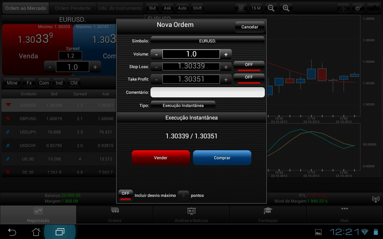XTrade HD - screenshot