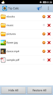 File Hide Pro- screenshot thumbnail