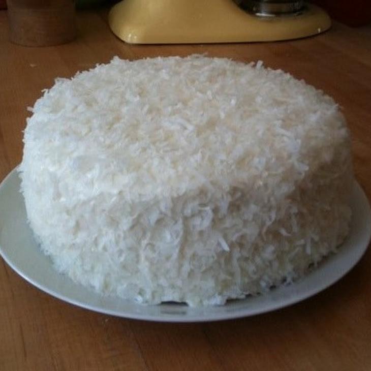 Pineapple Coconut Layer Cake