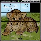 Magic Slide Puzzle W.Animals 1