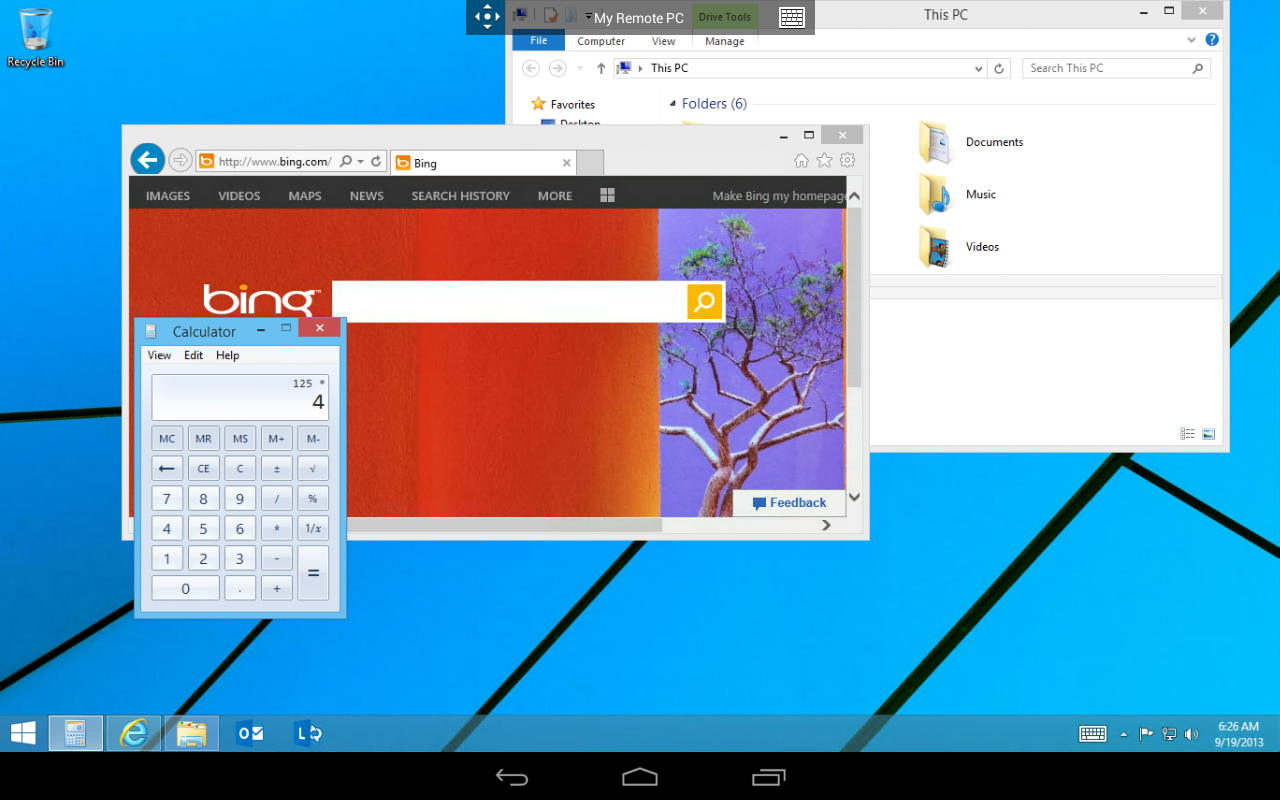 Microsoft Remote Desktop - screenshot