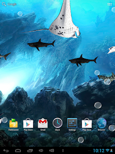 3D Sharks Live Wallpaper - screenshot thumbnail