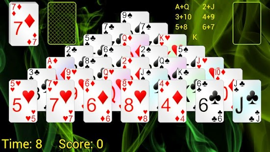 Pyramid Solitaire + - screenshot thumbnail