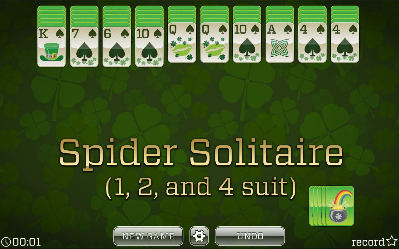 spider solitaire great day games