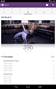 Fitocracy Workout Fitness Log- screenshot thumbnail