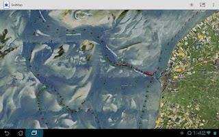 Screenshot of SeaMap
