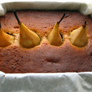 Ginger Pear Cake.