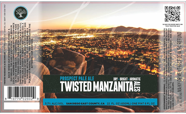 Logo of Manzanita Pale Ale