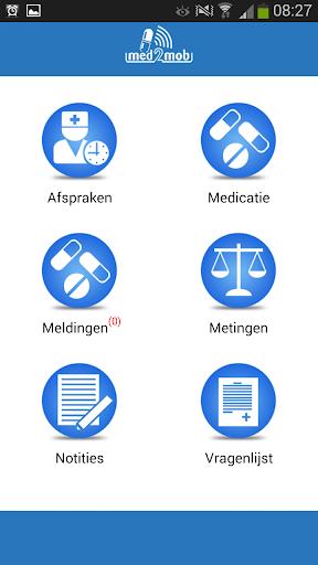 Med2Mob de medicatiemonitor