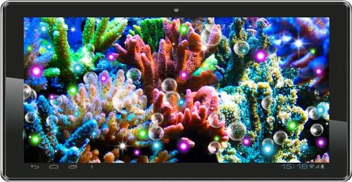 【免費個人化App】Underwater Real Gallery LWP-APP點子