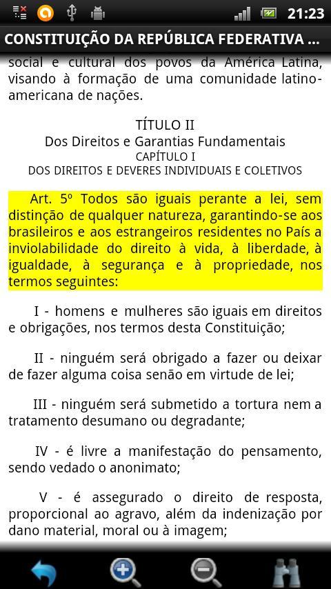 Constituição Brasileira GRÁTIS- screenshot