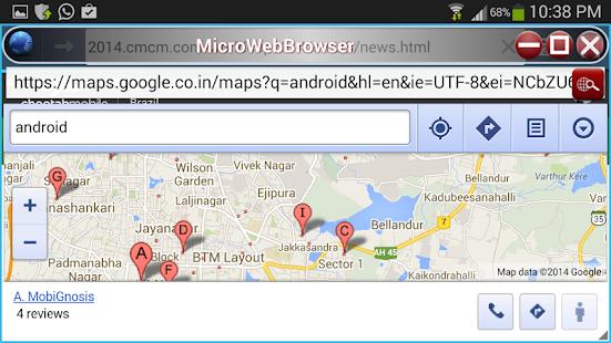 MicroWebBrowser