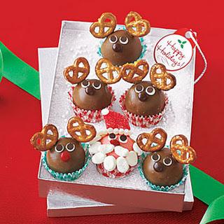 Santa and Reindeer Truffles