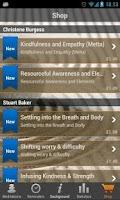 Screenshot of iMindfulness Mindfulness
