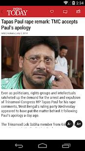 India Today - screenshot thumbnail